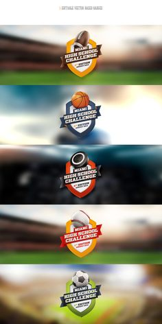 3D Wall Of Fame Sports Templates & Badges on Behance