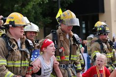 Runner With Cerebral Palsy Almost Stopped Mid-Race. These Firefighters Wouldn't Let Her.