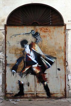 Conor Harrington, New Murals in Italy