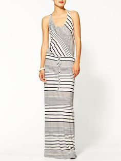 Pin for Later: Diese 11 Kleider aus Piperlimes Frühlings-Sale sind ein Muss LA Made Striped Maxi Kleid LA Made Tank Maxi Dress ($99)