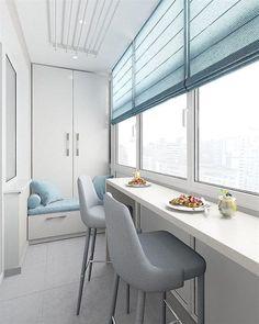 20 Trendy Bedroom Small Ideas Design Home Office Interior Balcony, Apartment Balcony Decorating, Room Interior, Interior Design Living Room, Interior Garden, Small Balcony Design, Small Balcony Decor, Narrow Balcony, Room Deco