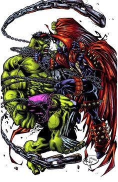 hulk vs spawn