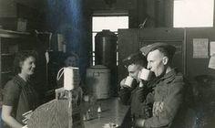 Station canteen, Cambridge, Cambridgeshire, 20 November 1941