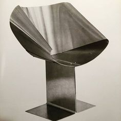 Seat by J.A. Motte in this super rare book on stainless Steel in Furniture, Lamps and Architecture from 1967.