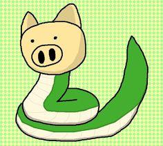 Pig Snake / #Animal #Hybrid #Chimera