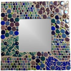 Photo frames and mirrors are a quick and easy mosaic project, perfect for beginners or someone just looking for a simple mosaic project to make. In this proje