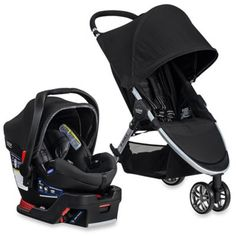 BRITAX 2016 B-Agile 3/B-Safe 35 Elite Travel System in Domino - buybuyBaby.com