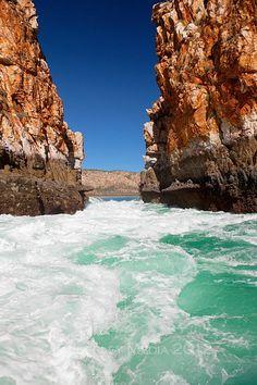The Horizontal Waterfalls - Kimberley coast