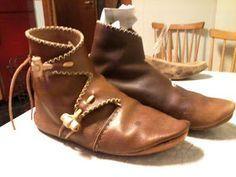 Viking Shoe tutorial from Denmark