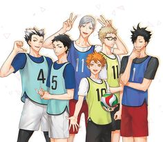 Haikyuu boys ❤
