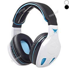 STN-08 Wireless Bluetooth V2.1 + EDR Stereo Headset w/ Mic FM MP3 EQ TF Slot f iPhone 6/6 Plus Samsung EEP-398408