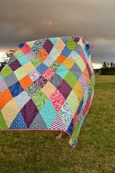 Mount Vincent Quilts: love the colors