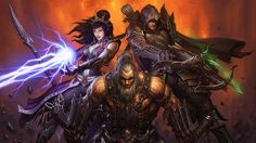 Still Playing: Diablo III – why ditching the Auction House has revitalised Blizzard's action RPG Diablo Characters, Fantasy Characters, 3 Characters, World Of Warcraft, Warcraft Art, Blizzard Diablo, Diablo Game, Hero Poster, Midtown Comics