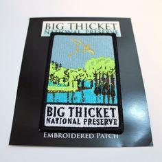 Official Big Thicket National Preserve Souvenir Patch Texas Park