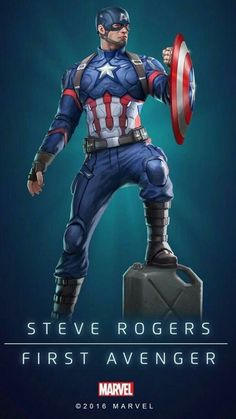Captain America (Steve Rogers), First Avenger