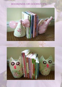 Cute book ends..