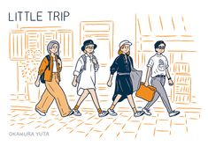『IamI magazine vol.05』 イラストを描きました。 http://www.ambidex.co.jp