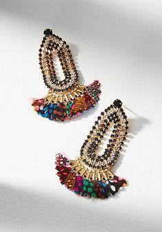 Gas Bijoux Atrevise Drop Earrings