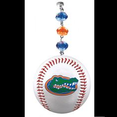 University of Florida - Logo Baseball (Set of 3) MAGNETIC ORNAMENT