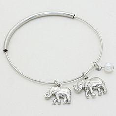 Ellie Charm Bracelet in Silver