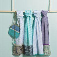 Un léger foulard d'été à fabriquer soi-même - Marie Claire Idées