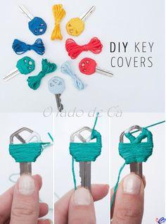 O Lado de Cá: Dica:Customizando chaves