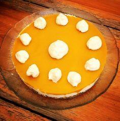 Mango-tuorejuustokakku. Niin hyvää!