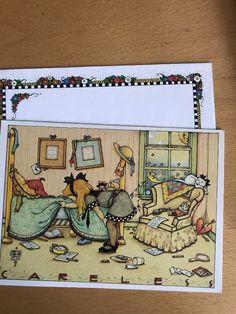 UNUSED 1982 Mary ENGELBREIT Birthday Greeting Card & Envelope