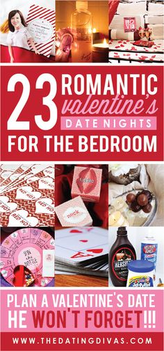 Romantic Valentine's Date Nights for the Bedroom