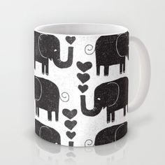 ELEPHANTS Mug by Matthew Taylor Wilson - $15.00