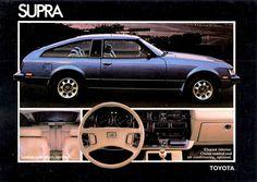 1980 Toyota Supra Liftback  My mom had one just like it!