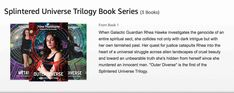 The entire Splintered Universe Trilogy now available on Amazon in three formats: print, ebook and audiobook Audiobook, Book Series, Spirituality, Universe, Amazon, Memes, Books, Livros, Amazons