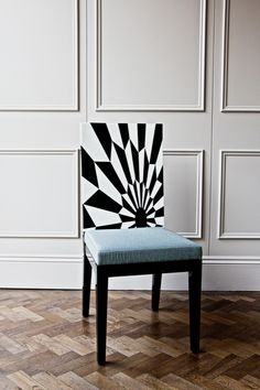 TECTONIC SILENCE Dining Chair / Marble Marquetry | Rue Monsieur Paris