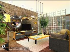 Fraxinus Living by Onyxium - Sims 3 Downloads CC Caboodle
