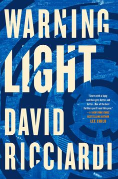 This is the first book written by this author and I can tell you that it definitely will not be the last that I will pick up! This book is exactly why I gravitate to the suspense-filled, espionage spy stories. Review of Warning Light by David Ricciardi