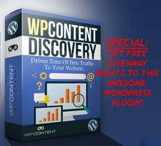 WP Content Discovery Review  Strongest Plugin That Will Drives Tons Of Free Traffic To Your Website & Get You Real Income Stream