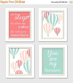 DETAILS Hot air balloon collection prints (Unframed) Size: 4-8x10 prints  Your chosen art work will be freshly printed in excellent high quality with