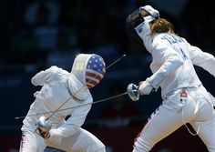 Best Of London: Susie Scanlan - competes against Italy's Nathalie Moellhausen during women's team epee fencing at the 2012 summer Olympics