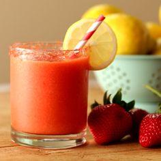 How to make Frozen Strawberry Lemonade