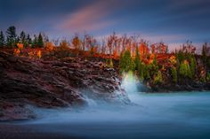 ***A Wavy Day (Gooseberry Falls State Park, Minnesota) by Like_He on 500px
