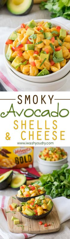 Smoky Avocado Shells