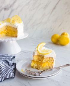 Lemon Cake Recipe for Two Easy Lemon Curd, Lemon Curd Filling, Cream Cheeses, Cake For Two Recipe, Ketogenic Diet, Cocoa, Small Batch Baking, Lemon Layer Cakes, Muffins