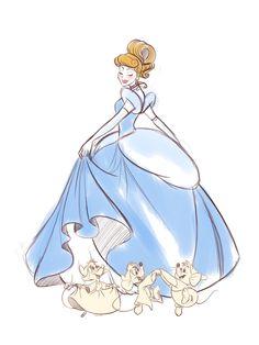 Cinderella Wallpaper: WIP Cinderella by – Characters Wallpaper Disney And Dreamworks, Disney Pixar, Walt Disney, Disney Characters, Cinderella Wallpaper, Cinderella Art, Download Cinderella, Pinturas Disney, Princess Art
