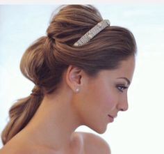 Your Bridal Beauty Plan Bridal Beauty, Wedding Beauty, Bridal Makeup, Bridal Hair, My Hairstyle, Bride Hairstyles, Cute Hairstyles, Hairstyle Photos, Braut Make-up