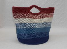 Ravelry: Bucket Bag pattern by Patricia Cox