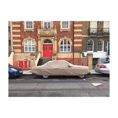 Undercover. #carporn #vintage #ghost #sheet #mercedes #douche