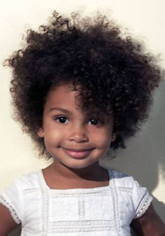 Hairstyles for Little Girls with Curly Hair - See more stunning hairstyles at SherrysLife.com!
