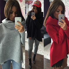 Kaywide Christmas Clothes 2017 Women Winter Hoodies Scarf Collar Long Sleeve Fashion Casual Autumn Sweatshirts Rough Pullovers  Price: 10.17 USD