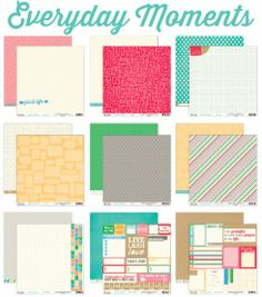 Elle's Studio: New collection reveal: Everyday Moments
