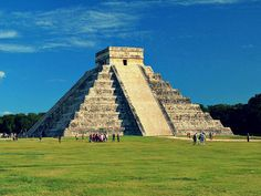 Go back in time at the Chichen Itza Mayan ruins.